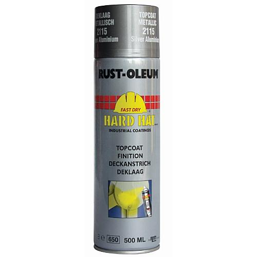 Rustoleum Hard Hat Topcoat Metallic Bright Aluminium 21