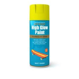 Rustoleum High Glow Paint Yellow Matt
