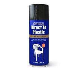 Rustoleum Direct To Plastic Black Gloss