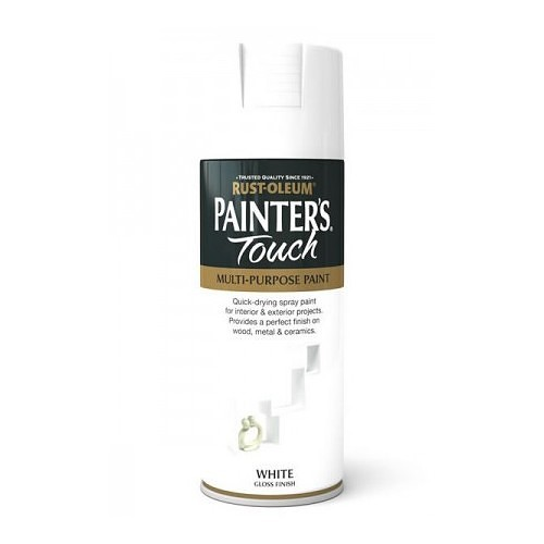 Rustoleum Painters Touch White Gloss