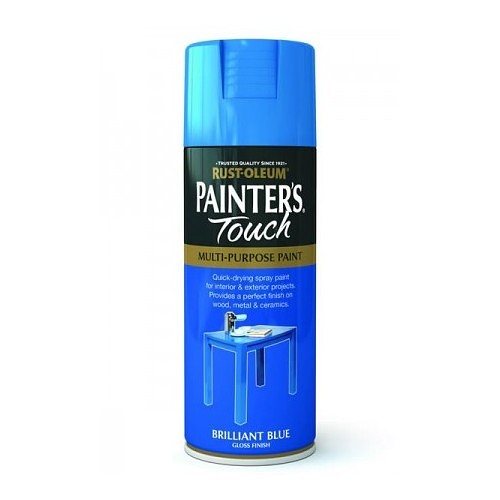 Rustoleum Painters Touch Brilliant Blue Gloss