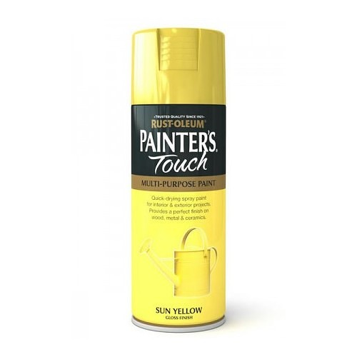 Rustoleum Painters Touch Sun Yellow Gloss