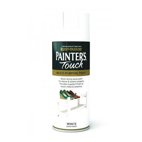 Rustoleum Painters Touch White Satin