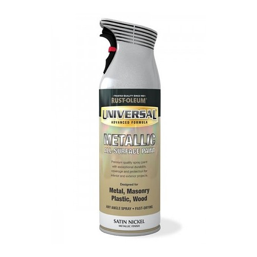 Rustoleum Universal Satin Nickel Metallic