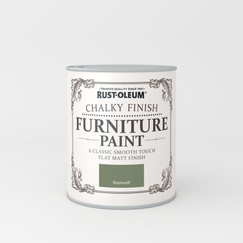 Rustoleum Chalky Finish Furniture Paint Bramwell Matt - 750ml