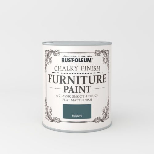 Rustoleum Chalky Finish Furniture Paint Belgrave Matt - 750ml