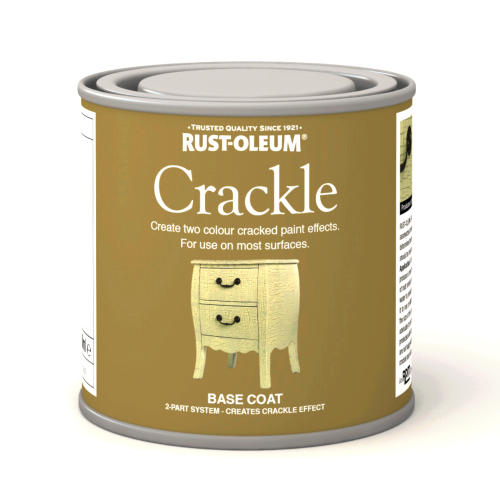 Rustoleum Crackle Base Coat (Paint) 250ml