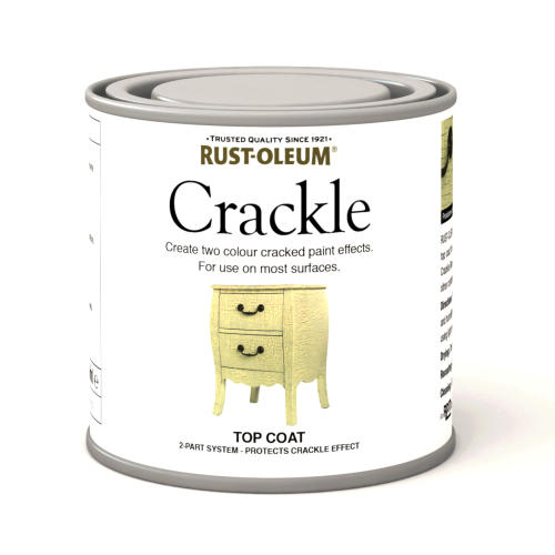 how to use rustoleum crackle paint