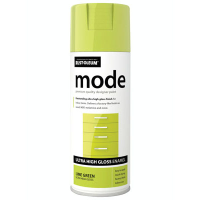 Rustoleum Mode Lime Green Enamel Gloss Spray