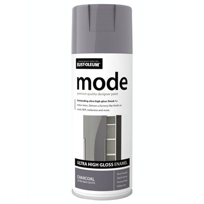 Rustoleum Mode Charcoal Enamel Gloss Spray