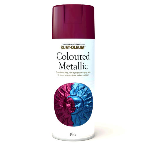 Rustoleum Coloured Metalic Pink (Spray) 400ml