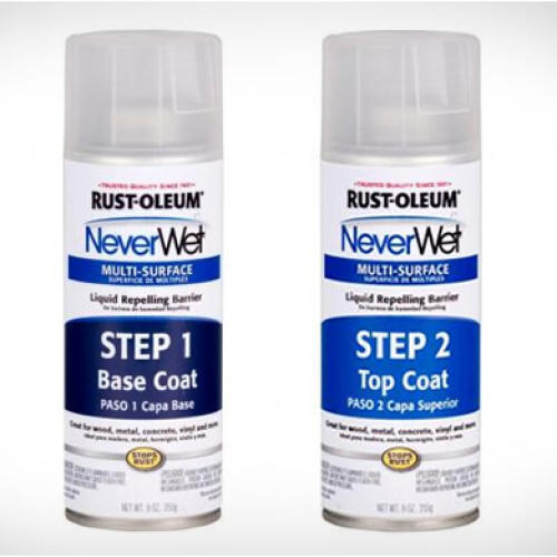 Rustoleum NeverWet Multi Surface Liquid Repelling Treat